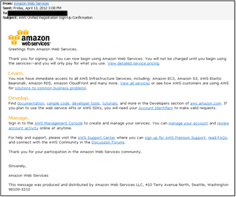 Amazon EC2 Cloud Platform Installation